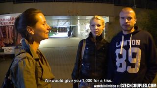 Czech couples – man sell his girlfriend